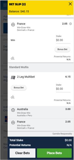 tab multi betting not allowed synonym