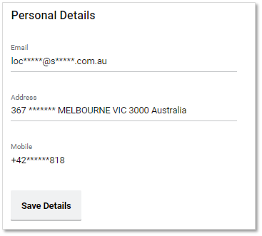 How do I update my Personal Details? – Sportsbet Help Centre