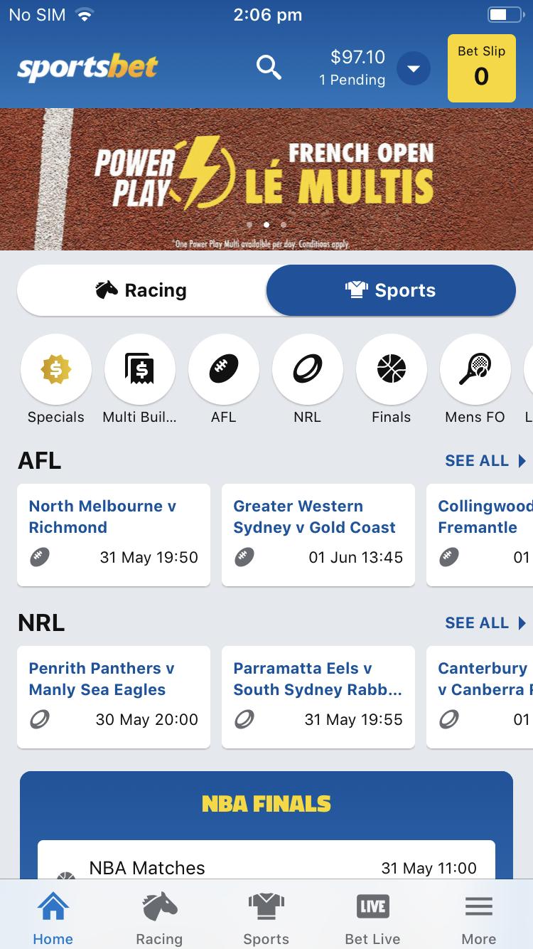 Sportsbet app live betting soccer csgo betting tmartn2 sims